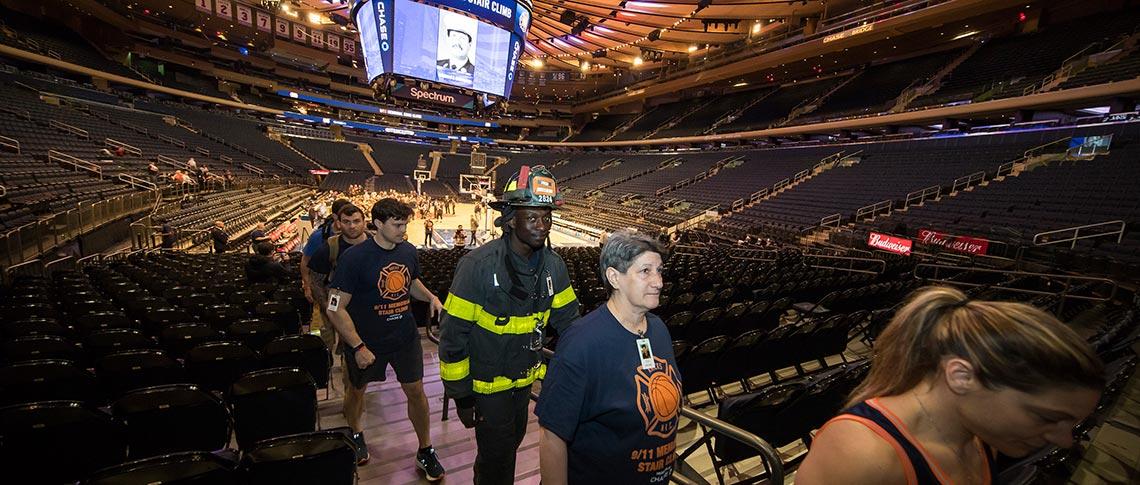 4b22082aded 2019 New York Knicks 9 11 Memorial Stair Climb - National Fallen ...